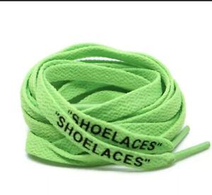 Lacets Shoelaces Nike X Off White Virgil Abloh Neuf 140cm