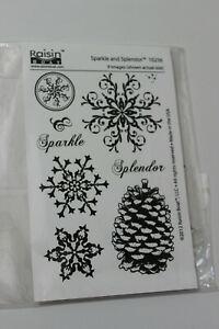 Raisin Boat  Sparkle and Splendor Stamp Set