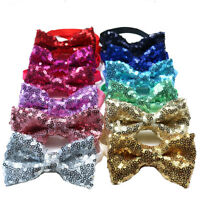 1X Shining Cat Dog Puppy Bow Ties for Stage Show&Holiday Adjustable Dog Bowties