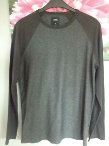mens/boys grey top by burtons menswear size small