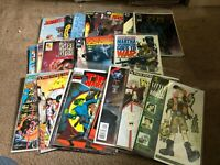 FRB-#008 LOT OF 58 modern/vintage INDEPENDENT comic books - many #1's