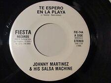 MINT LATIN SALSA 45, JOHNNY MARTINEZ & HIS SALSA MACHINE, TE ESPERO EN LA PLAYA