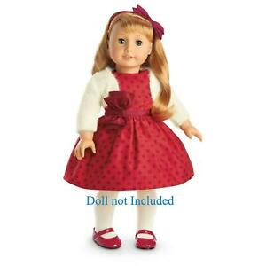 NIB American Girl Doll MaryEllen's Christmas Party Outfit NEW! No Doll Included.