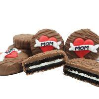 Philadelphia Candies Mom Heart Gifts For Mom Milk Chocolate OREO® Cookies 8 Oz