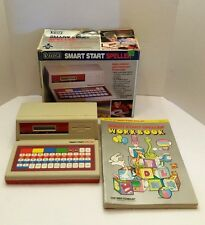 VTECH Smart Start Speller Educationics Electronics With Extra Books Vintage 80's