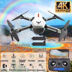 SG906 RC Drone quadricottero Brushless GPS 4K FPV WiFi 5G con 2 batterie X7Y8