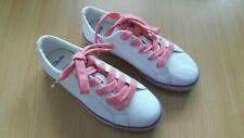 New Clarks Girls Brill Cali Leather Trainers Size UK 13.5F