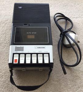 Superb Retro Ferguson 3T07 Portable Cassette Tape Recorder From Late 1970s