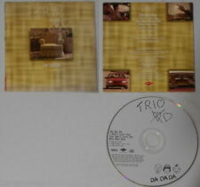 Trio  Da Da Da mixes  U.S. promo cd  card cover