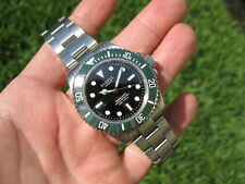 Tisell Kermit NO DATE Marine Diver Automatic Mens Dive Watch! Ceramic Bezel! ✅