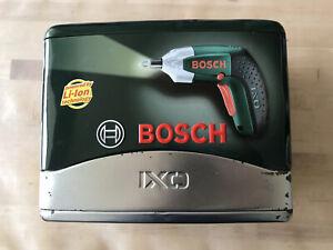 Used Bosch IXO Electric Screwdriver
