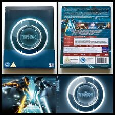 Disney Tron : Legacy 2010 Blu-ray Steelbook 3D + 2D Limited Edition UK 2500ex
