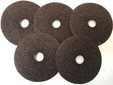 METAL FIBRE DISCS - NORTON METALITE  FOR METAL P36  (PACKS OF 5) 125 MM X 22 MM