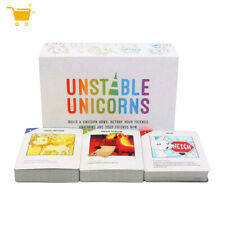Unstable Unicorns Card Base Game Family Party Strategic Card Game - 2018 Version