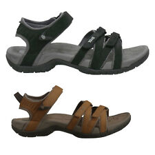 Teva Tirra Leather Textile Casual Strappy Outdoor Slingbacks Womens Sandals