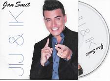 JAN SMIT - Jij & Ik CD Single 2TR Enhanced Dutch Cardsleeve 2014 RARE!