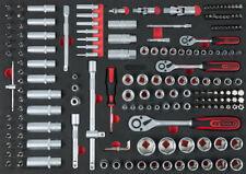 KS Toolsl Einlage gefüllt Steckschlüssel Schaumstoff Werkstattwagen 711.0179