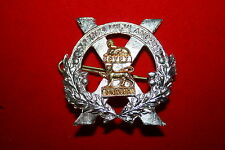 SCOTTISH GORDON HIGHLANDERS PIPER'S BAGPIPE SPORRAN / SHOULDER BADGE METAL