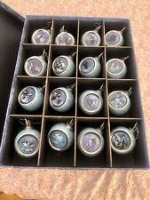 Spririte Of The Wilderness Wolf Ornaments 16 In Box Bradford Editions 1990's +