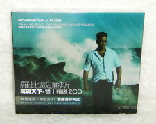 Robbie Williams In and Out Consciousness Taiwan 2-CD w/BOX