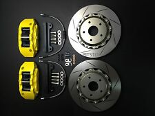 "TOYOTA CAMRY 07-14 Brake pad kit disc 330mm 13"" rotors 6 piston calipers FRONT"