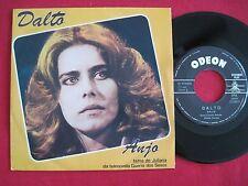 RARE 45 PS - DALTO - ANJO / FIM DA LINHA - GUERRA DOS SEXOS - EMI ODEON PORTUGAL