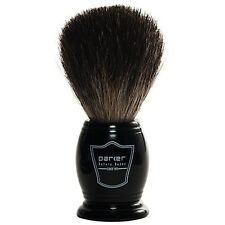 Deluxe Parker Ebony Handle 100% Black Badger Shave Brush Hand Crafted Brush Knot
