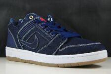 Nike SB Air Force II Low QS Size 9 Mens Binary Blue/White AO0298-441