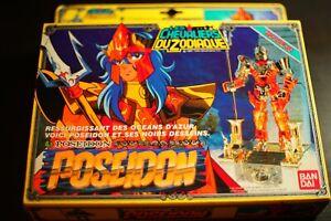 Bandai Saint Seiya Vintage 1987 Les Chevaliers du Zodiaque Poseidon
