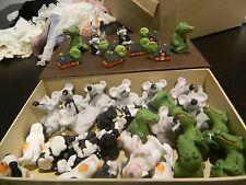 53 Setzkastenfigure Keramikfigur Miniatur Konvult  Maus Katze Hund Haus Krokodil