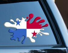 Panama Splat fun Decal Sticker Car Van Laptop suit case Rugby Football Sport