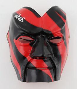 WWF WWE Kane Signed Autographed ORIGINAL Vintage Licensed Mask Collectible + COA