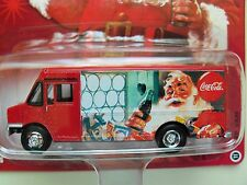 JOHNNY LIGHTNING - COCA-COLA / SANTA - STEP VAN (DELIVERY TRUCK) - 1/64 DIECAST