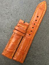 Real Crocodile Leather Watch Strap Band Size 21mm-18mm WT3122-3126