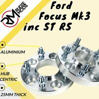 Ford Focus Mk3 inc ST RS 5x108 25mm Hubcentric wheel spacers 1 pair - show use