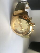 ACQUATECH Polluce Chrono Women's Yellow Gold Stainless Steel Chronograph Watch