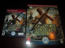 Medal of Honor: Rising Sun (Sony PlayStation 2, 2003) with Strategy Guide