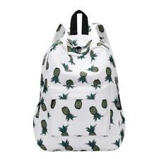 Backpack Pineapple Printing School Bags For Teenager Girls Casual Travel Satchel