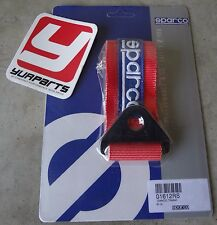 Sparco Racing Universal Tow Strap / Tow Hook Ribbon Red