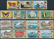 1979 KIRIBATI DEFINITIVES SET OF 15 FINE MINT MNH