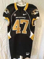 13645a70f Game Worn Used Missouri Tigers Mizzou Football Jersey  47 Size 40