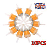 10X Small Petrol In-Line Universal Clear Fuel Filters Fits 6 or 8mm Pipe Filter