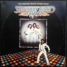 SATURDAY NIGHT FEVER Film Soundtrack OST 2-LP Bee Gees 1977 David Shire Travolta