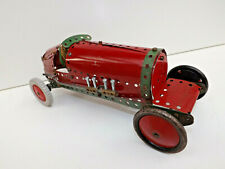 Vintage  Meccano 1920s-1930s Grand Prix / Indy 500 Style Motor Racing Car / No2