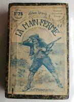N76 Ancien Livre La Main Fermé Gustave Aimard début XXeme A.Fayard Paris