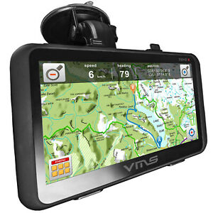 "VMS Truck Car 7"" GPS Navigator System 4WD Free maps Off-Road Mapping 4X4"