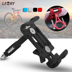 Aluminum Motorcycle Bike Bicycle Holder Mount Handlebar For Cell Phone GPS ! *