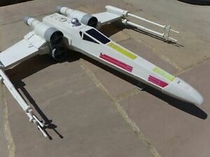 "Hasbro Star Wars Huge Large 30"" Model of Rebel's X Wing Fighter Model Toy Rare"