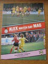 20/12/1980 Crewe Alexandra V Darlington (leggera piega, graffi)