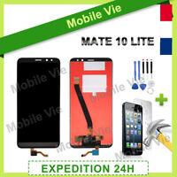 VITRE TACTILE + ECRAN LCD PRET-A-MONTER POUR HUAWEI MATE 10 LITE NOIR + OUTILS